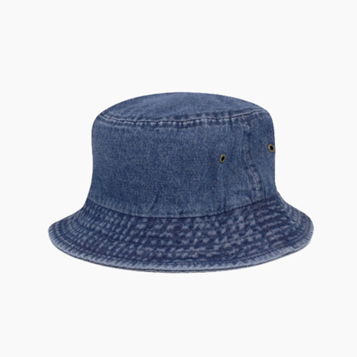 [NEWHATTAN] Denim Bucket Dark Blue, 버킷햇 - 풋셀스토어