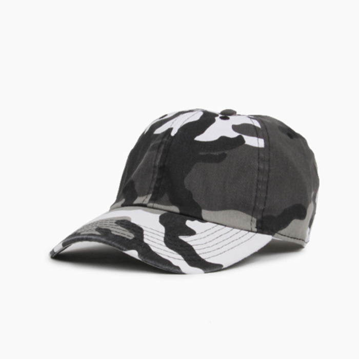 [NEWHATTAN] Cotton Ballcap City Camo, 볼캡 - 풋셀스토어