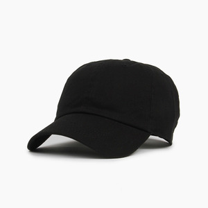 NEWHATTAN Cotton Ballcap Black 볼캡 - 풋셀스토어
