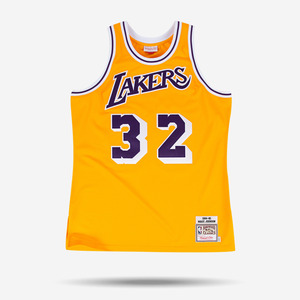 미첼엔네스 NBA 매직존슨 어센틱 져지, MitchellandNess Migic Johnson AUTHENTIC JERSEY 1984-1985