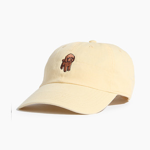 [WARF] Cotton Ballcap Poodle Yellow, 모자, 볼캡