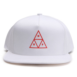 [허프]TRIPLE TRIANGLE SNAPBACK (WHITE) [HUFHT00045-WHT]