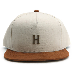 [허프]SMALL METAL H STRAPBACK (NATURAL) [HUFHT00057-NATUR]
