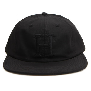 [허프]FORMLESS CLASSIC H 6 PANEL - MADE IN USA (BLACK) [HUFHT00067-BLK]
