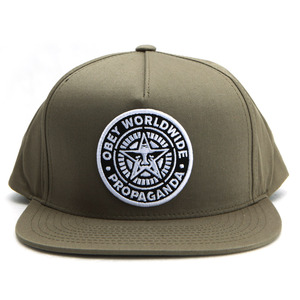 [오베이]CLASSIC PATCH SNAPBACK (LIGHT ARMY) [100510054-LTA]