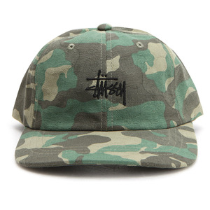 [스투시]JACQUARD CAMO LOW CAP (GREEN) [131715-GREN]