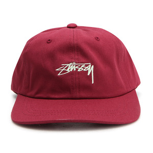 [스투시]SMOOTH STOCK LOW CAP (RED) [131718-REDD]