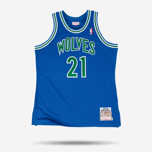 미첼엔네스 NBA 케빈가넷 하드우드 클래식 어센틱 져지, MitchellandNess KEVIN GARNETT 1995-96 HARDWOOD AUTHENTIC CLASSICS JERSEY