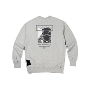 [어반스터프] USF CALL BRIDGE SWEAT SHIRTS GRAY, 맨투맨