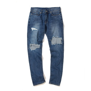 [어반스터프] USF DISTRESSED DENIM PANTS BLUE, 데님팬츠