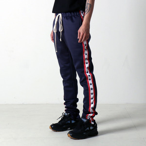 [EPTM] GRAPHIC TRACK PANTS (NAVY STARS) - 풋셀스토어