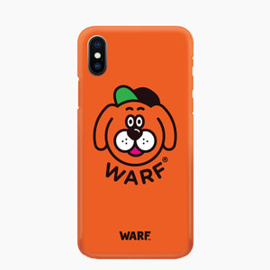 [WARF] Big Face Mobile Case Orange, 워프 - 풋셀스토어