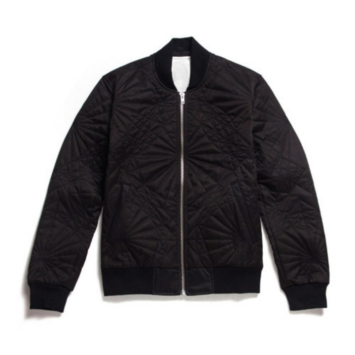 [블랙스케일]BLACKSCALE Shapes Jacket Jacket Black - 풋셀스토어