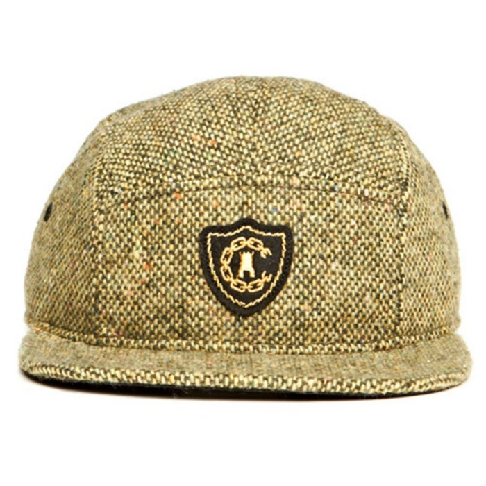 [크룩스앤캐슬]CROOKS & CASTLES Mens Woven 5 Panel Cap - Confetti [3] - 풋셀스토어