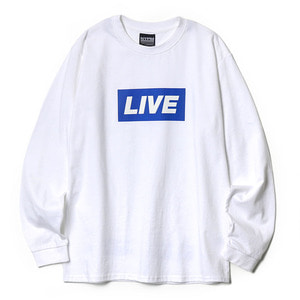 네스티팜, [NP] NEWS BANNER LONG SLEEVE WHITE (NP18A059H) - 풋셀스토어
