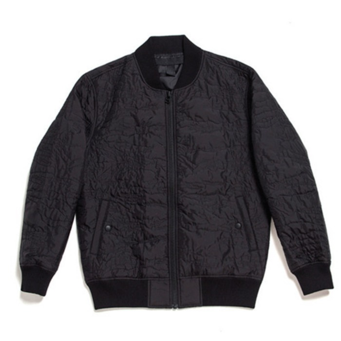[블랙스케일]BLACKSCALE GHOST CAMO FLIGHT JACKET (BLACK) - 풋셀스토어