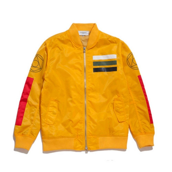 [블랙스케일]BLACKSCALE Workmens Flight Jacket (YELLOW) - 풋셀스토어