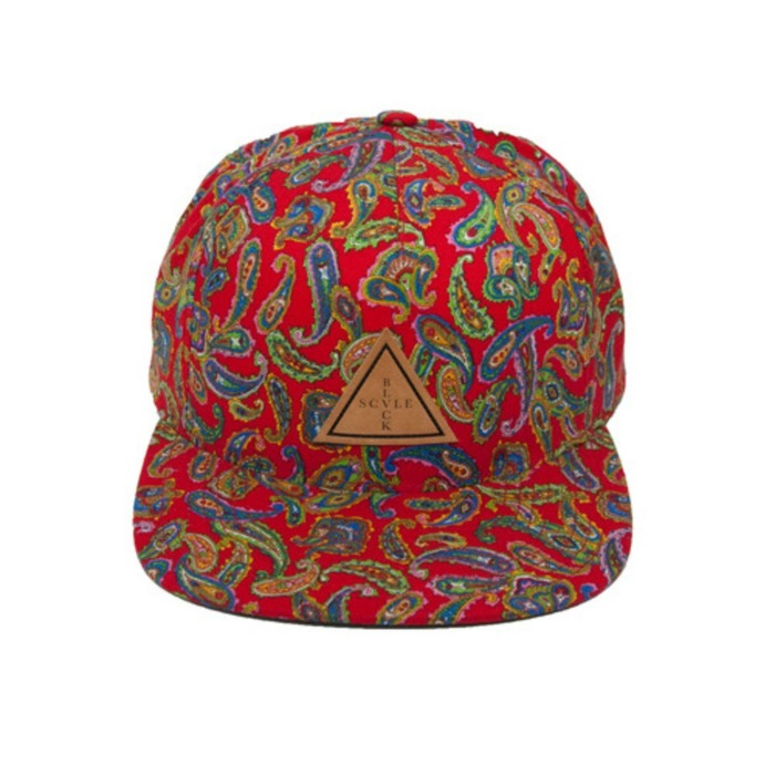 [블랙스케일]BLACK SCALE Palme Trois SnapBack RED - 풋셀스토어