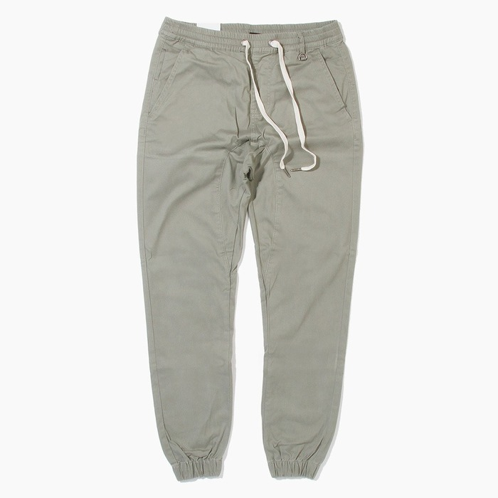 [하이퍼데님] HYPER DENIM Drop Crotch Jogger Light Olive - 풋셀스토어
