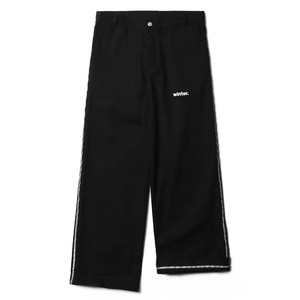 네스티팜, [NP] SAFETY LINE PANTS BLACK (NP18A064H) - 풋셀스토어