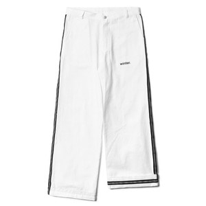 네스티팜, [NP] SAFETY LINE PANTS WHITE (NP18A064H) - 풋셀스토어