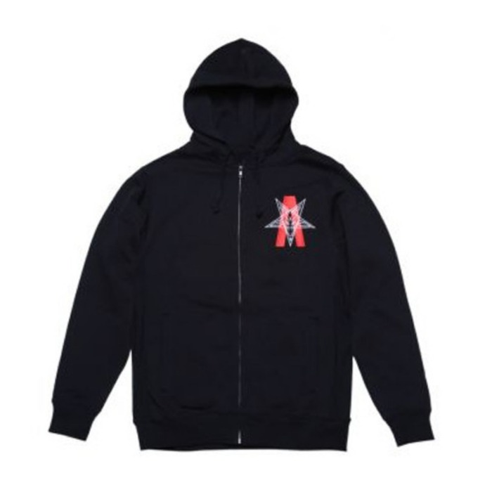 [블랙스케일]BLACKSCALE Abstract Reality Zip Up Hoody Zip Up Hoody [1] - 풋셀스토어