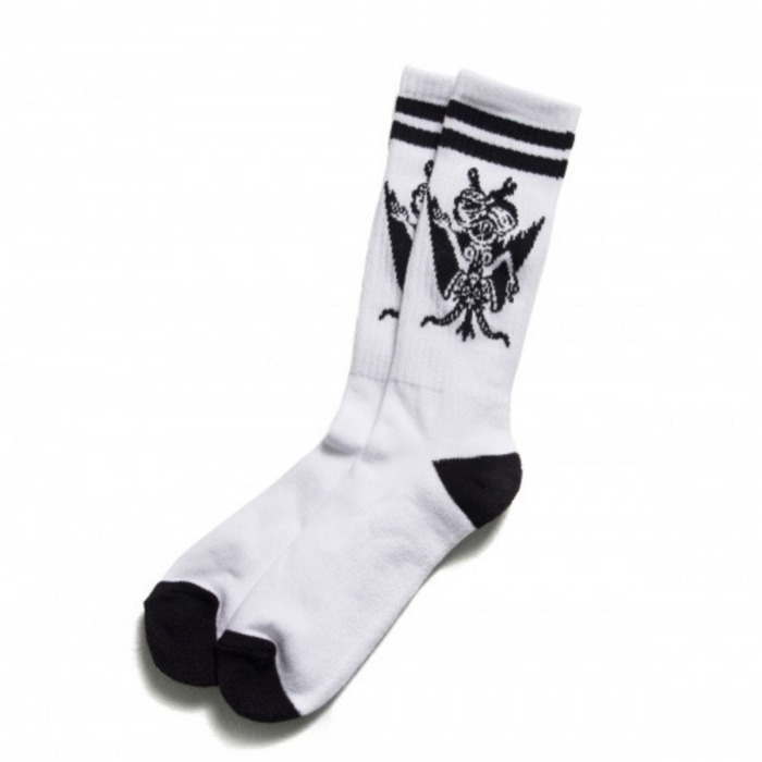 [블랙스케일]BLACK SCALE Son of Scale Socks, White - 풋셀스토어