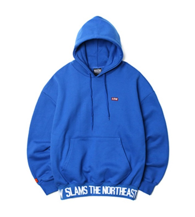 네스티팜, [NP] BREAKING NEWS OVERSIZED HOODIE BLUE (NP18A052H) - 풋셀스토어