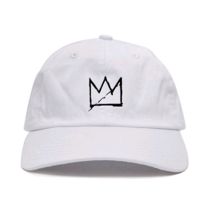 [애니메메스]ANY MEMES CROWN STRAPBACK (WHITE) - 풋셀스토어