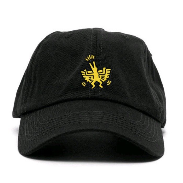 [애니메메스]ANY MEMES Flying dog STRAPBACK (BLACK) - 풋셀스토어