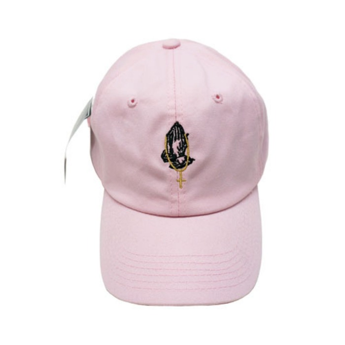 [애니메메스]ANY MEMES Prayer STRAPBACK (PINK) - 풋셀스토어