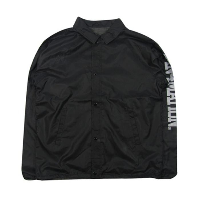 [유에스에이머천다이징]U.S.A MERCHANDISING IN4MATION NYLON REVERSABLE COACH JACKET - 풋셀스토어