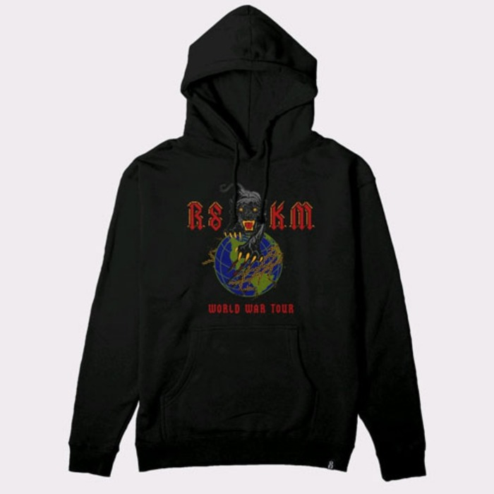 [레벨에잇]REBEL8 X KILLER MIKE World War Tour Pullover - 풋셀스토어