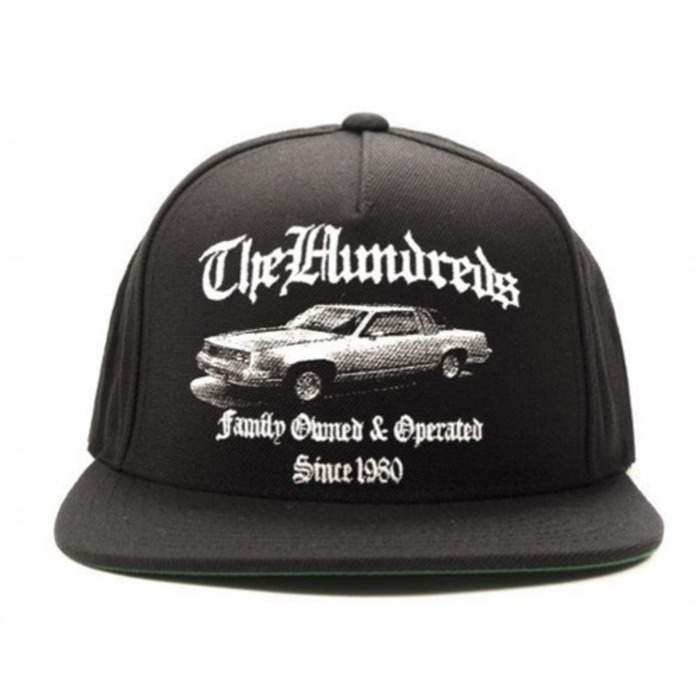 [더헌드레드]THE HUNDREDS BROKE SNAPBACK (BLACK) - 풋셀스토어