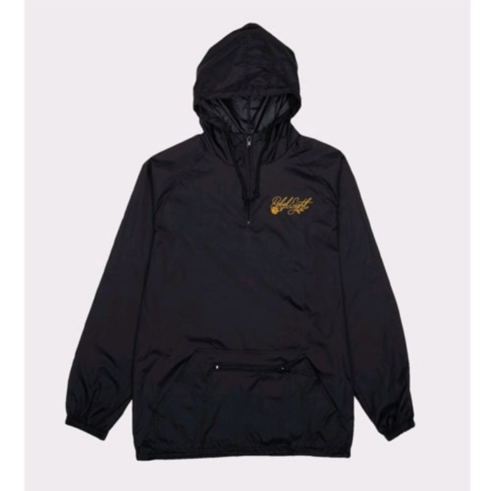 [레벨에잇]REBEL8 FLORET EMBROIDERED ANORAK JACKEY BLACK - 풋셀스토어