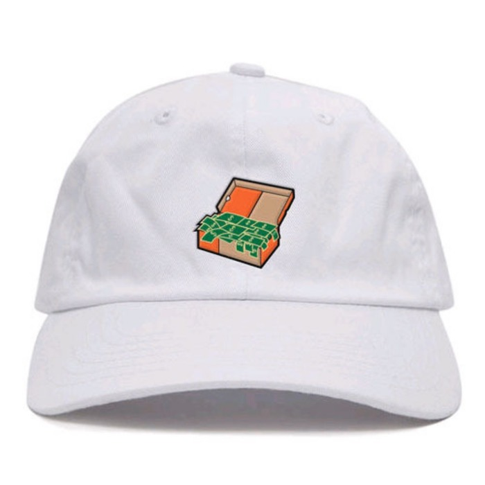 [애니메메스]ANY MEMES Cash box STRAPBACK (WHITE) - 풋셀스토어
