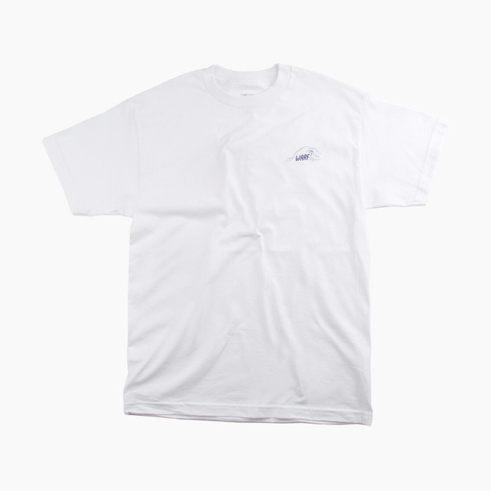 [와프] WARF Seek The Adventure S/S White 반팔티 - 풋셀스토어