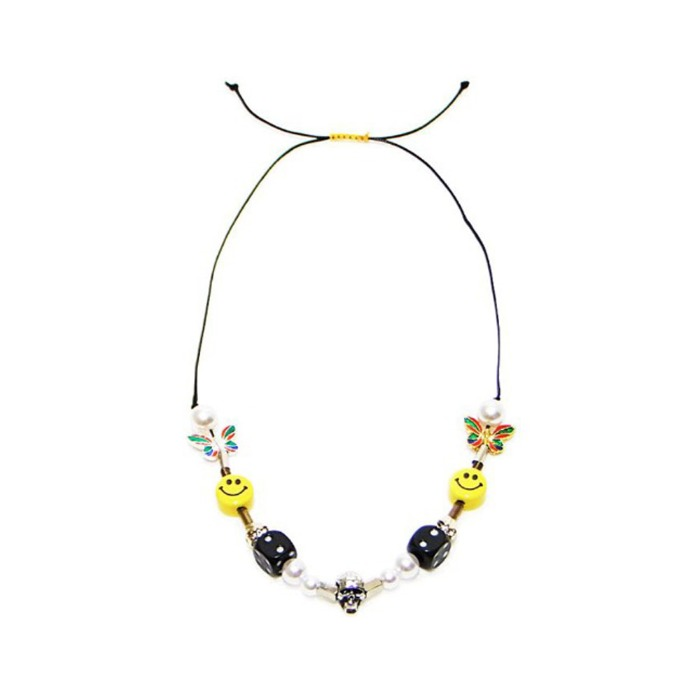 EVAE+ MOB SMILE NECKLACE - 풋셀스토어