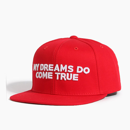 [808hats] 808 My Dreams Do Come True Snapback Red, 도끼스냅백 - 풋셀스토어